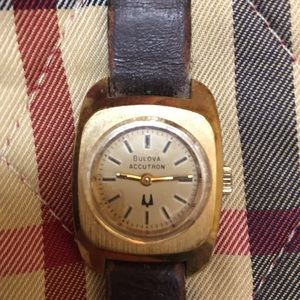 Accessories - Vintage Bulova Accutron tuning fork lady's watch